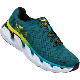 Hoka One One Elevon Running Shoes Herren caribbean sea/black